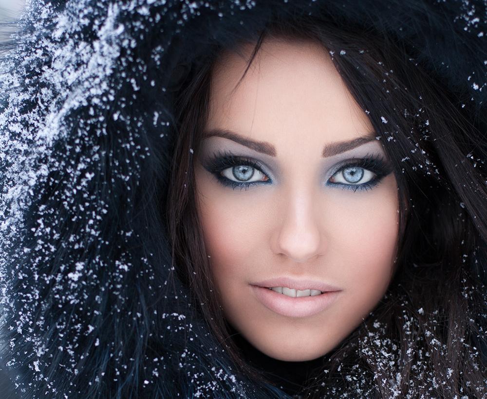 Makijaż na zimę