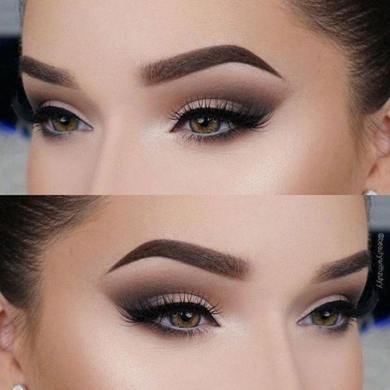 Delikatny makijaż oczu 2019