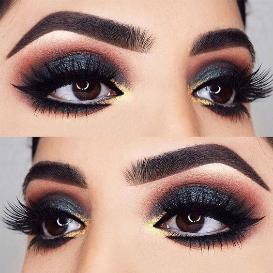 Inspiracje na wieczorowy makijaż oczu 2019