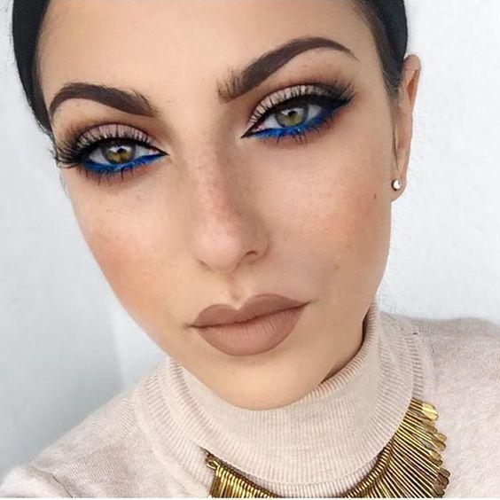 Mocny makijaż oka 2019