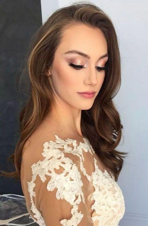 Naturalny makijaż ślubny 2020