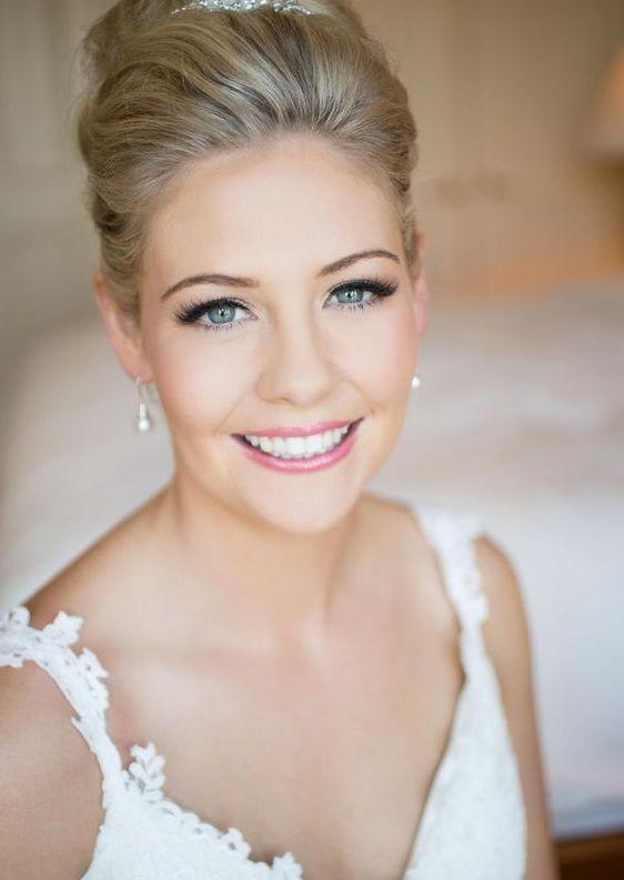 Naturalny makijaż ślubny