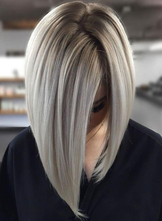 Inspiracje na szare włosy